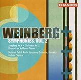 echange, troc  - Mieczyslaw Weinberg - Symphonies, Vol. 2 :  Symphonie n° 4 op. 61 - Sinfonietta n° 2 op. 74 - Rhapsodie op. 47 n° 1