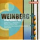 Mieczyslaw Weinberg - Symphonies, Vol. 2 :  Symphonie n� 4 op. 61 - Sinfonietta n� 2 op. 74 - Rhapsodie op. 47 n� 1