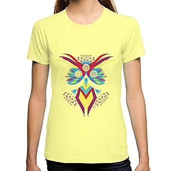Amazon.com: Society6 Women's Buho -28-02-14 T-Shirt X-Large Lemon