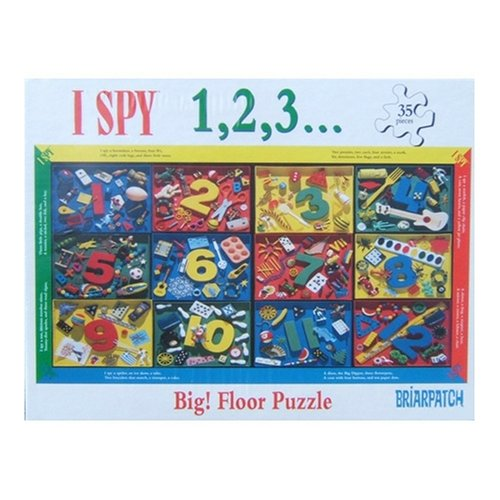 Briar Patch I Spy 1, 2, 3... 35 Piece Floor Puzzle