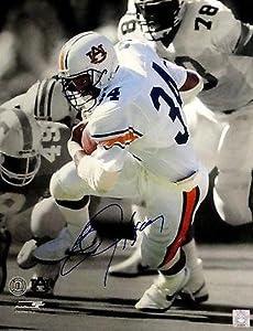 Bo Jackson Signed Photograph - 16x20 Auburn Running W COA - Autographed NFL Photos by Sports Memorabilia
