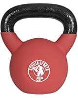 Red, Palla Kettlebell in gomma 4-32Kg, 20kg