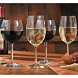 Libbey 12-Piece Vineyard Reserve Wine Glass Set, Clear