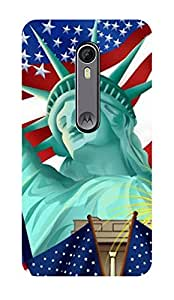 ZAPCASE Printed Back Case for MOTOROLA MOTO X STYLE