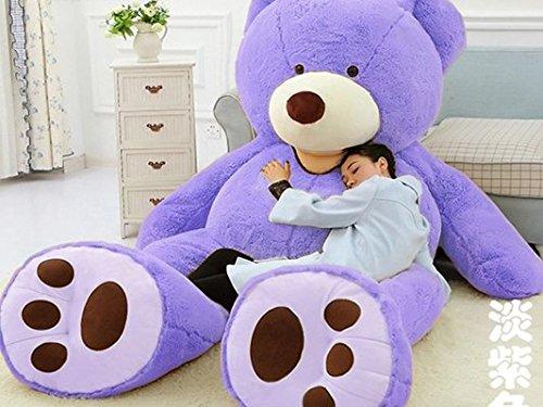 lovesoundぬいぐるみ 特大 くま/テディベア アメリカCostCo 可愛い熊 動物 250cm 大きい/巨大 くまぬいぐるみ/熊縫い包み/クマ抱き枕/お祝い/ふわふわぬいぐるみ (画像通り)