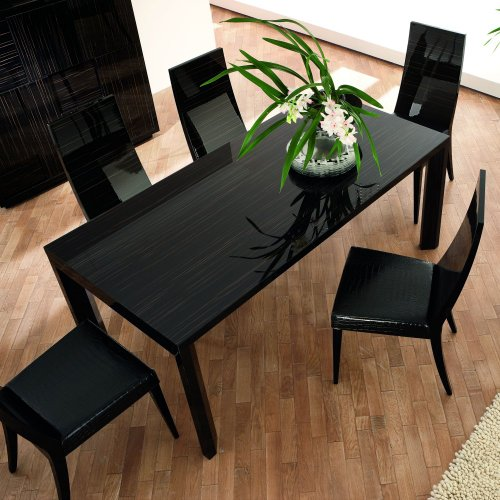 Nightfly Extendable Dining Table - Black