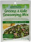 Concord Foods Southern Style Greens & Kale Seasoning Mix (Pack of 4) 1 oz Packets