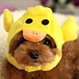 Alfie Pet By Petoga Couture - Qeno Duck Hat Party Costume (for Small Dogs & Cats) - Color: Yellow, Size: Small