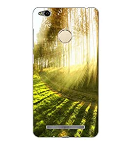 XIAOMI REDMI 3S PRIME FOREST Back Cover by PRINTSWAG