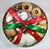 Cookies Con Amore Handmade Italian Christmas Cookie Assortment Plate 16 Oz.