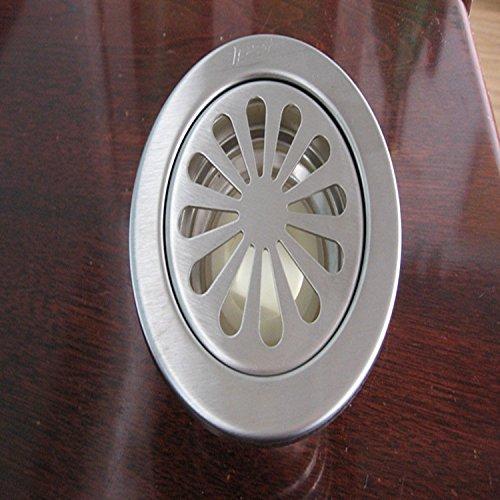 XXTT-Pest e odore-resistente in acciaio inox piano accessori di scarico