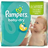 Pampers Baby Dry (Maxi +) Nappies Monthly Pack - Size 4+ (152 Nappies)