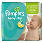 Pampers Windeln Baby Dry Gr. 4+ Maxi...