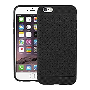 iPhone 6s Plus Case, LEAF Protective Tpu Back Case Cover For Apple iPhone 6s Plus (Black)