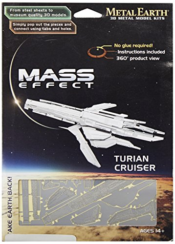 Dark Horse Deluxe Mass Effect: Metal Earth 3D Laser-Cut Model: Turian Cruiser