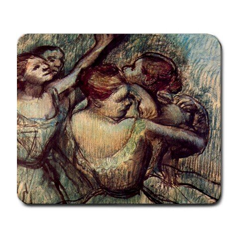Four Dancers in Half Figure By Edgar Degas Mouse Pad