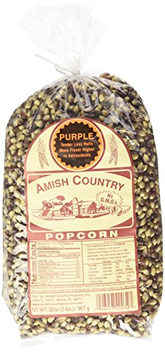 Purple Amish Country Popcorn, 2-lb Bag (Amish Popcorn Butter compare prices)