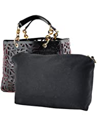 ALONZO Women's Handbag (ALONZO0565, Black)