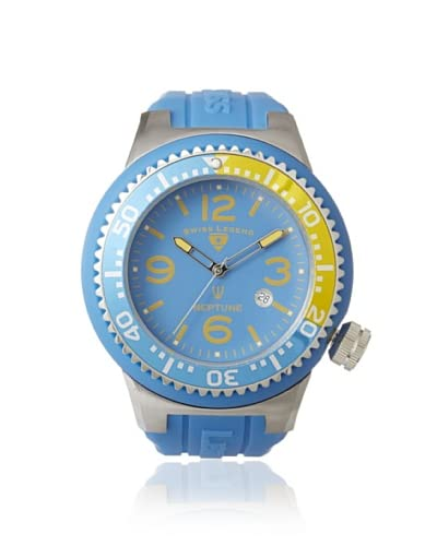 Swiss Legend Men's 21818S-B-OCT Neptune Bright Blue Silicone Watch