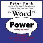 Word Power | Peter Funk