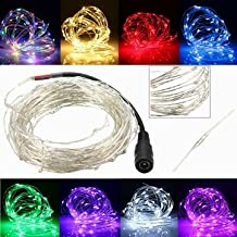 5M 50 LED Copper Wire Christmas Outdoor String Fairy Light Waterproof DC12V-red