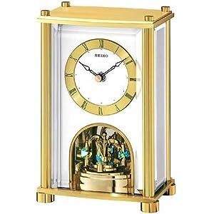 Amazon.com: Seiko Clocks Mantel clock #QHN002GLH: Watches