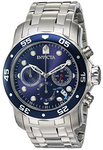 Invicta-Mens-0070-Pro-Diver-Collection-Analog-Chinese-Quartz-Chronograph-Silver-Stainless-Steel-Watch