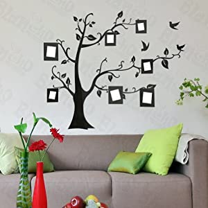 Memory tree large wall decals stickers appliques home for Home decorations amazon