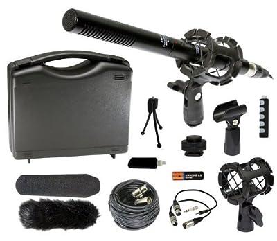 Professional DSLR Microphone Kit for Nikon D7100 D7000 D5200 D5100 D3200 D3100 D800 D600 D90