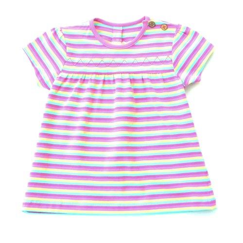 Kite Kids Baby Girl Stripy Zig Zag Tunic