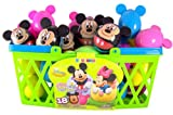 Pack of 18 Walt Disney Mickey and Minnie Mouse Candy Filled Eggs for Easter Basket
