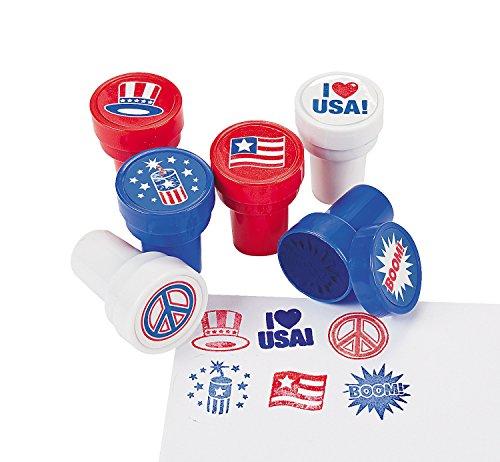 Patriotic Stampers (2 Dozen) - Bulk