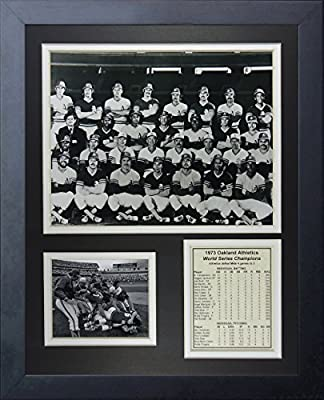 "Legends Never Die ""1973 Oakland Athletics World Series Champions"" Framed Photo Collage, 11 x 14-Inch"