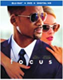 Focus (Blu-ray + DVD + Digital HD UltraViolet Combo Pack)