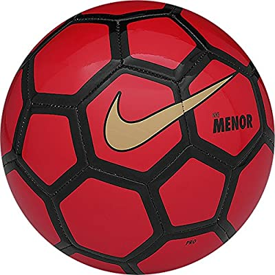 Nike Menor Futsal Ball, Challenge Red/black, Size Pro