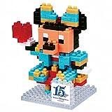 ディズニーシー15周年 ミニーマウス ナノブロック  ザ・イヤー・オブ・ウィッシュ クリスタル・ウィッシュ・ジャーニー TDS15th お土産【東京ディズニーシー限定】