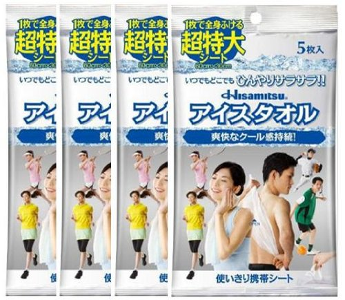 Hisamitsu アイスタオル 5枚