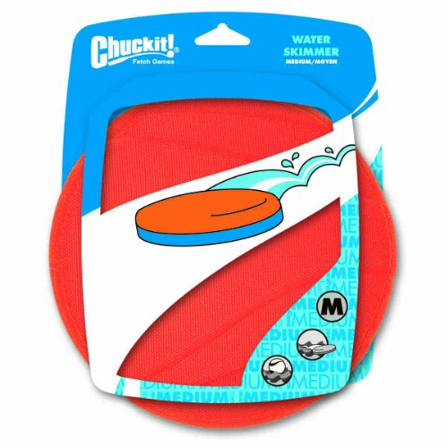 Canine Hardware Chuckit! Water Skimmer Med Orange-Blue 22320