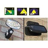 Lampe solaire FLP 15 LED avec détecteur de mouvement