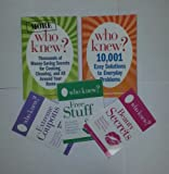 5 Books Set: Who Knew? 10,001+ Money-Saving Secrets for Solving Everyday Problems, Special Collection of 5 books