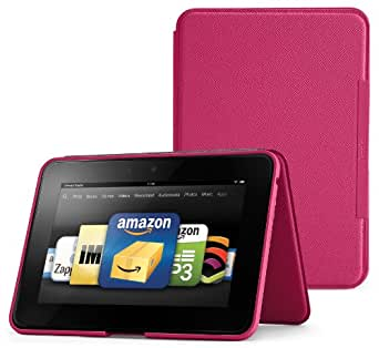 "Amazon Kindle Fire HD 8.9"" Standing Leather Case, Fuchsia (will not fit HDX models)"