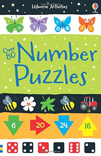 Over 80 Number Puzzles (Usborne Puzzle Books)