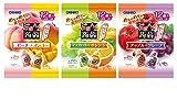 オリヒロプランデュ ぷるんと蒟蒻ゼリーパウチ 人気3種6味セット(ピーチ+マンゴー・アップル+グレープ・マスカット+オレンジ )各20gx12個