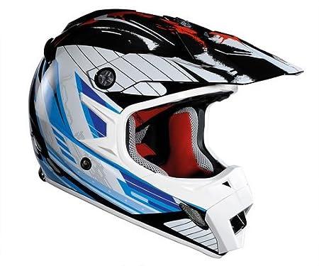 Lazer 1203404001XS mX8-stargate-noir/bleu/rouge-taille xS