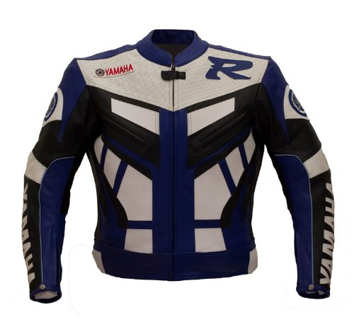Yamaha Race Leather Jacket (L)
