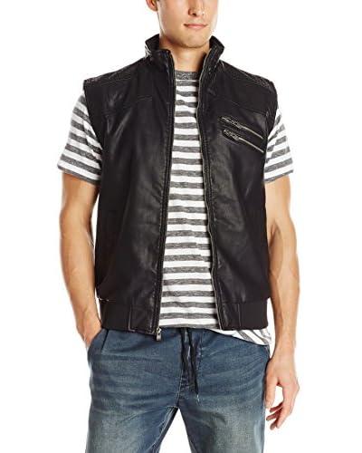 X-Ray Men's Faux Leather Vest