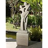 Large Garden Sculptures - Ballroom Grace Modern Stone Statue