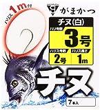 がまかつ(Gamakatsu) 糸付 チヌ(白) 1M 3-2