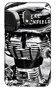 iessential bike Designer Printed Back Case Cover for Moto G Play, 4th Gen
