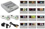 SNES Konsole mit 12 Spielen und 2 Controllern